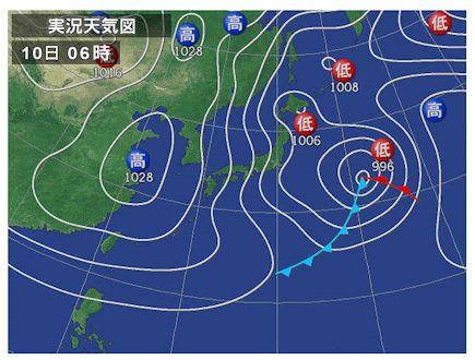 20140310天気図