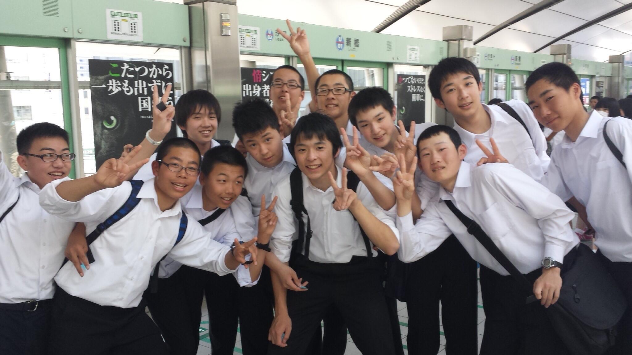 上野駅男子3組