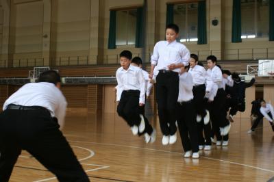長縄練習2