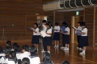 学校祭集会4