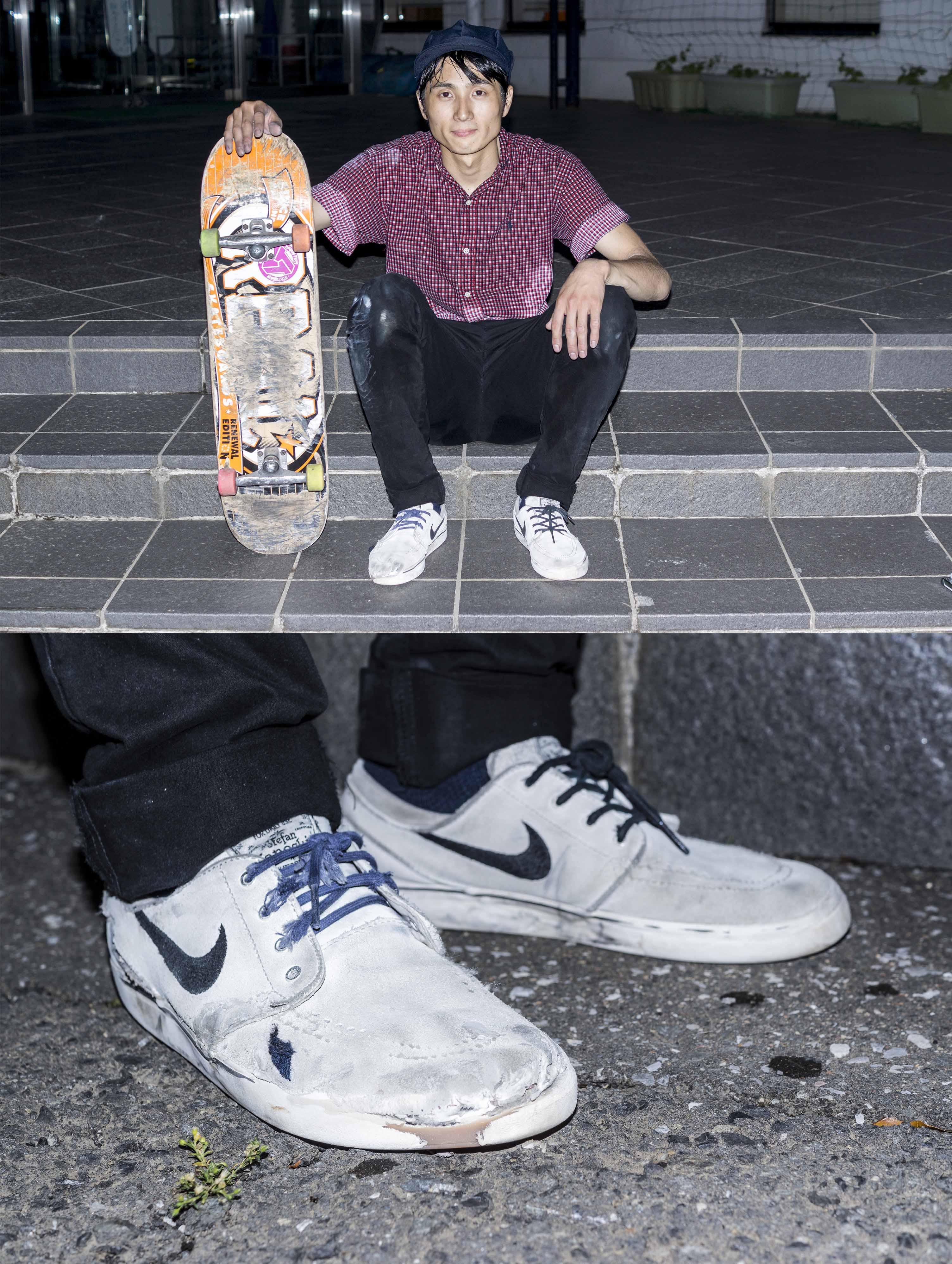 Symbol of skateboard 片岡 風