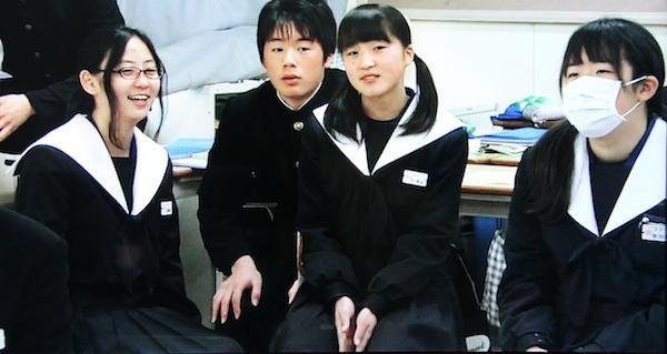 黒愛セラ 黒セラ 愛知型セーラー服 女子中学生 愛セラ 芋セラ 芋セーラー服