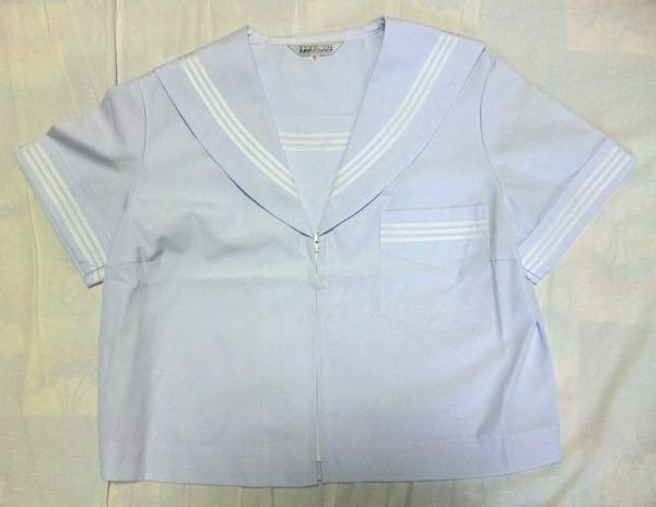関西襟 関西型セーラー服 白襟 夏セーラー服