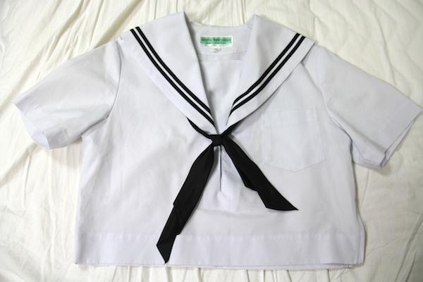 愛セラ 愛知型セーラー服 黒線
