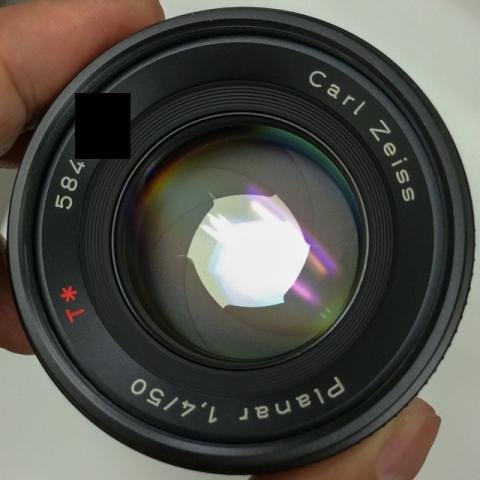 (C/Y) CONTAX Carl Zeiss Planar T* 50mm F1.4 F2.8