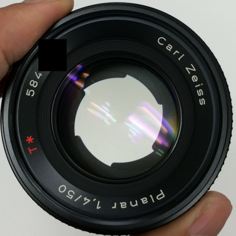 (C/Y) CONTAX Carl Zeiss Planar T* 50mm F1.4 F2