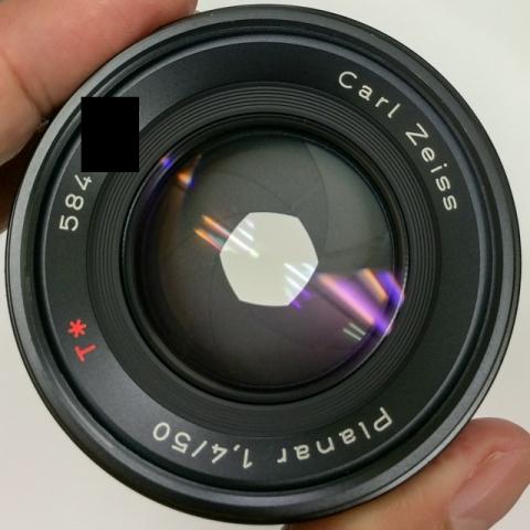 (C/Y) CONTAX Carl Zeiss Planar T* 50mm F1.4 F4