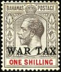 バハマ・戦時税加刷