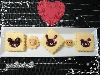 ガナッシュサンドクッキー☆うさぎ編