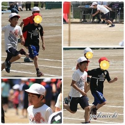2014年運動会☆短距離走♥