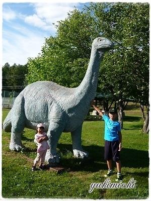 キャンプ☆恐竜