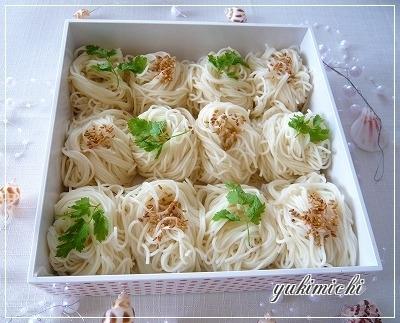 親子遠足☆素麺☆2014