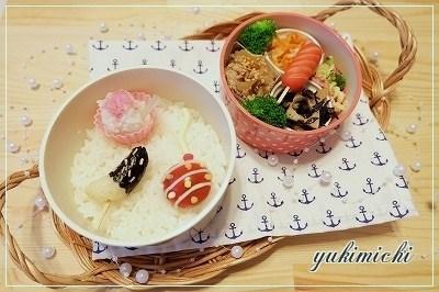 夏祭りのお弁当♥
