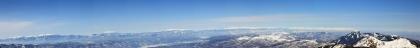 硫黄岳パノラマ