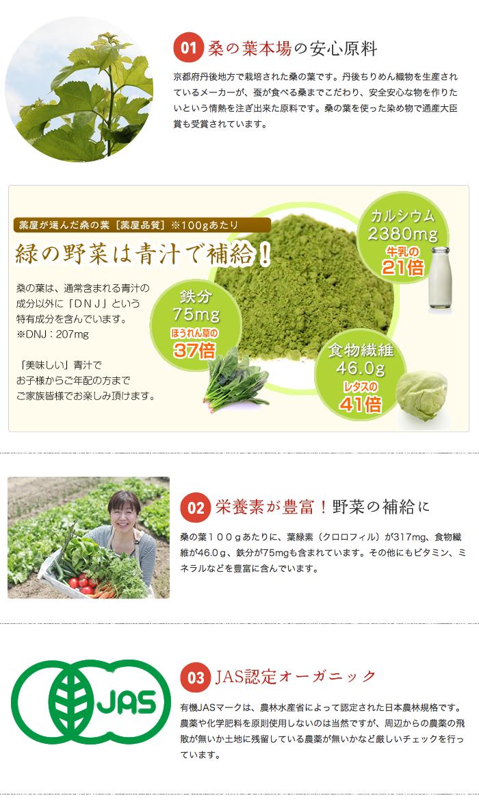 桑の葉粉末9