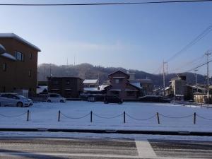 3月の雪1