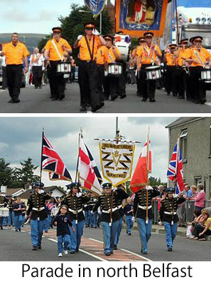 parade in north Belfast 060