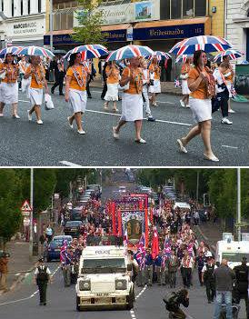 parade in north Belfast 060-5