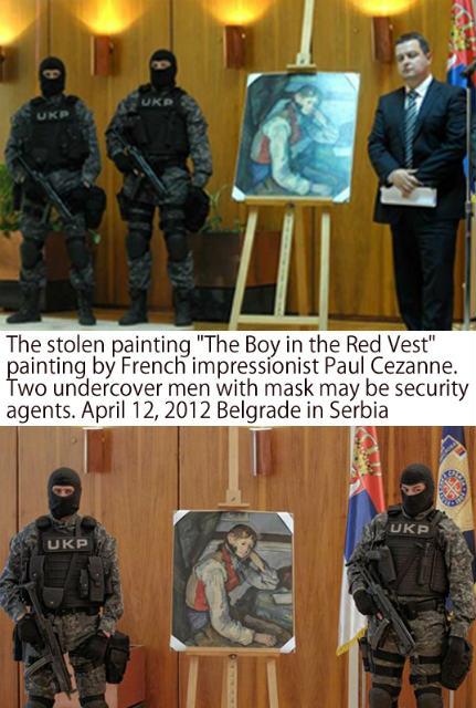 Cezanne col 02 stolen found