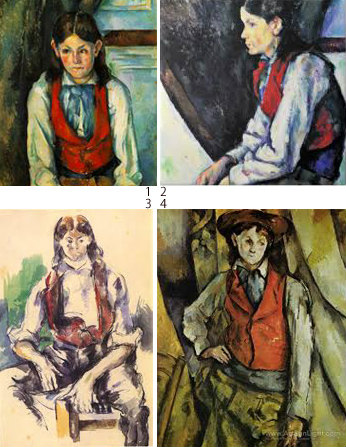 Cezanne col 03 A red Variatie