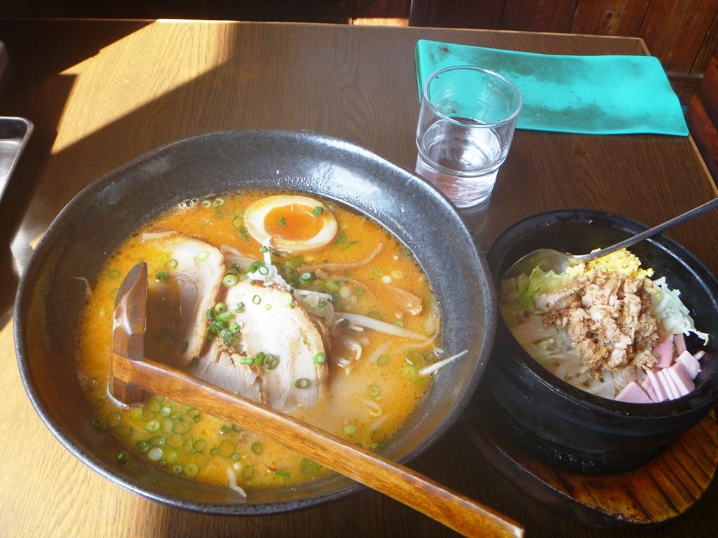 P1060713壱麺札幌こく味噌