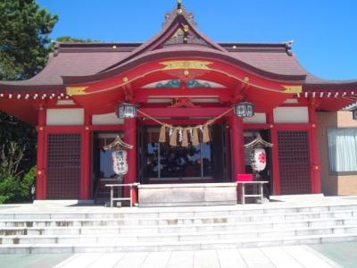 稲毛浅間神社。