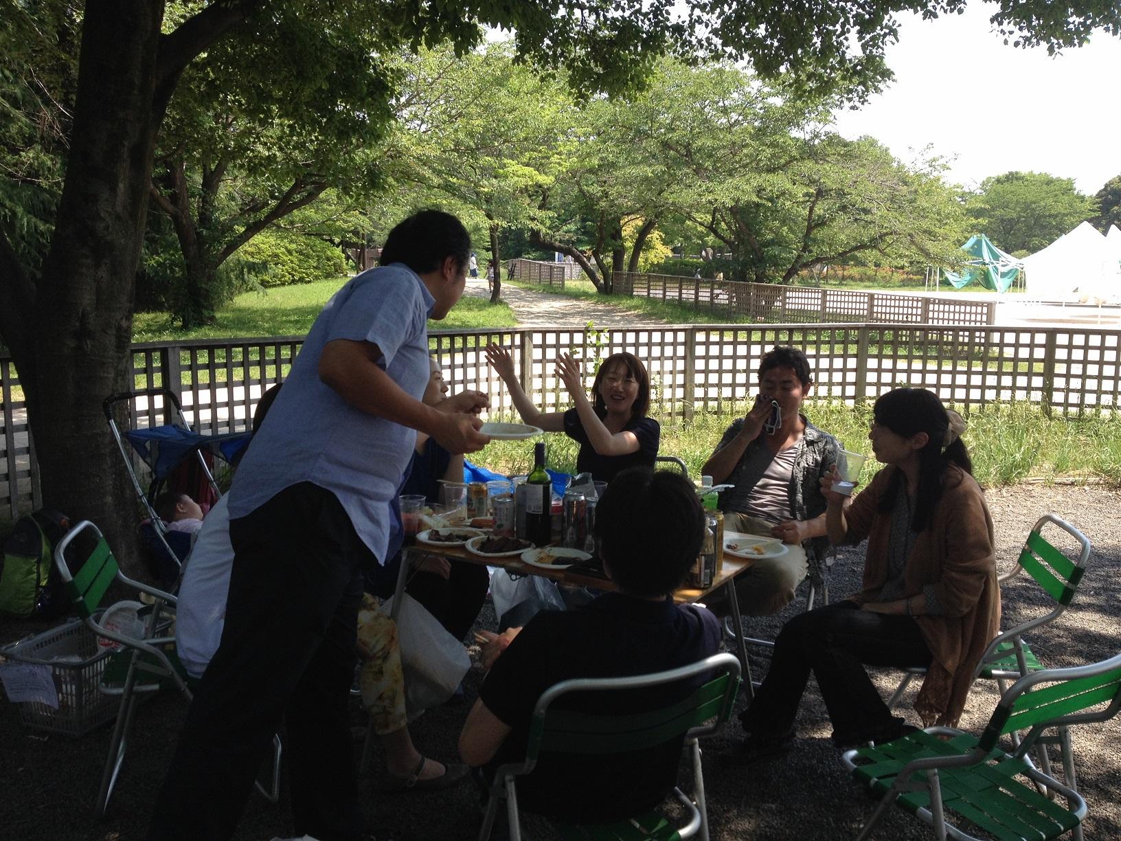 バーベキュー(昭和記念公園)