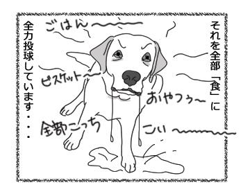 羊の国のラブラドール絵日記シニア!!「ありあまる食欲!?」4