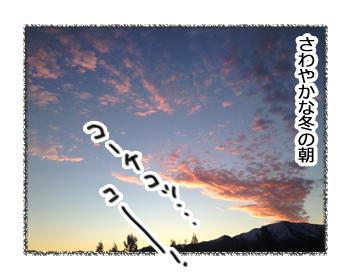 羊の国のラブラドール絵日記シニア!!「氷点下の朝」1