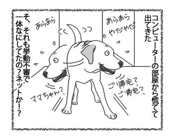 羊の国のラブラドール絵日記シニア!!「オンラインショッピング?」4