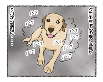 羊の国のラブラドール絵日記シニア!!「負け惜しみ」4