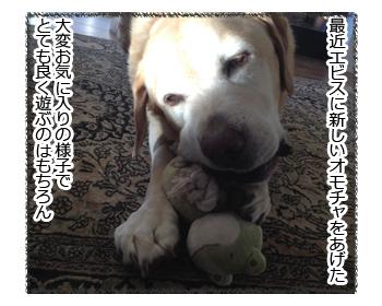 羊の国のラブラドール絵日記シニア!!「Comfort Blanket」1