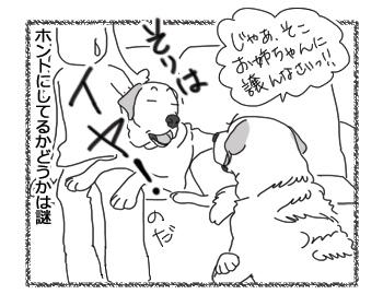 羊の国のラブラドール絵日記シニア!!「譲れません」4