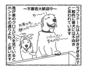 羊の国のラブラドール絵日記シニア!!「番犬エビス」1