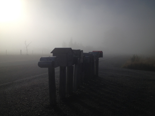 羊の国のラブラドール絵日記シニア!!「雲の中を散歩」4