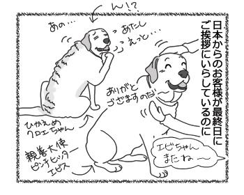 羊の国のラブラドール絵日記シニア!!「そぞろちゃんのワケ」2