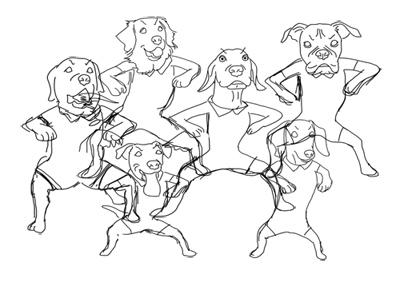 羊の国のラブラドール絵日記シニア!!「ぬくぬくウィンター」6