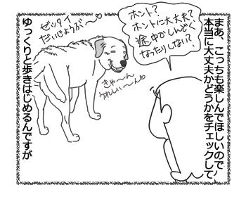 羊の国のラブラドール絵日記シニア!!「大丈夫、まってる」3