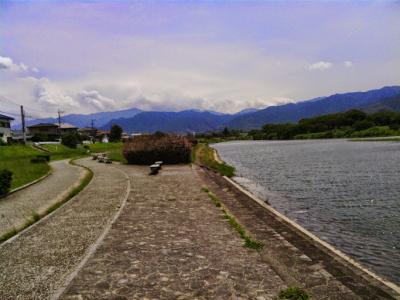 河川ジョギング
