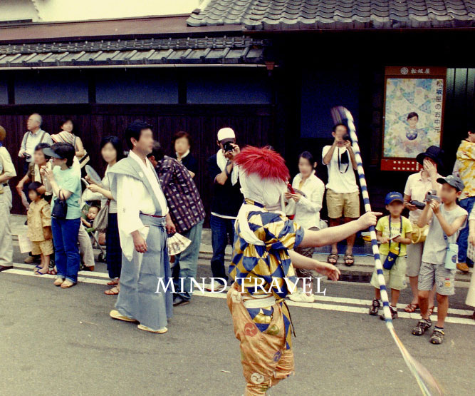 祇園祭 綾傘鉾 棒振り