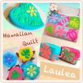 Hawaiian quilt 『Laulea』