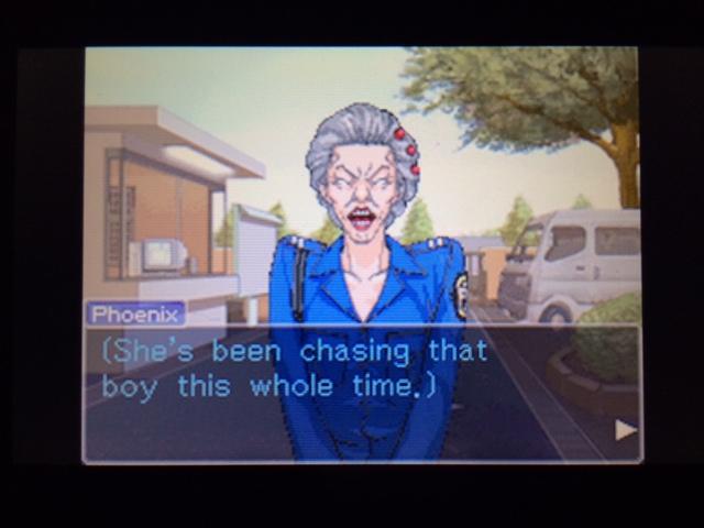 逆転裁判 北米版 オールドバグwith Mia7