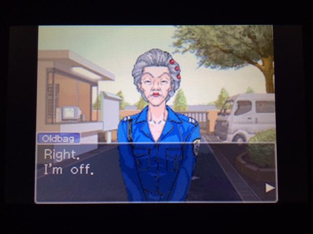 逆転裁判 北米版 オールドバグwith Mia62