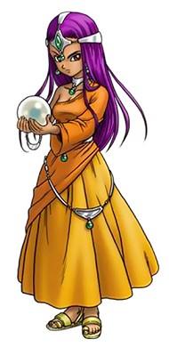 ドラクエ4 北米版 キャラクター ミーナ