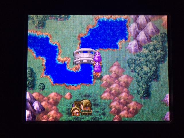 ドラクエ4 北米版 西の洞窟とウージャム1