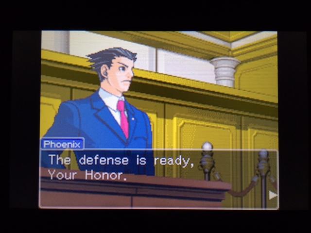 逆転裁判 北米版 ウィル法廷冒頭21