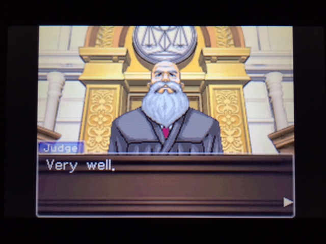 逆転裁判 北米版 ウィル法廷冒頭26