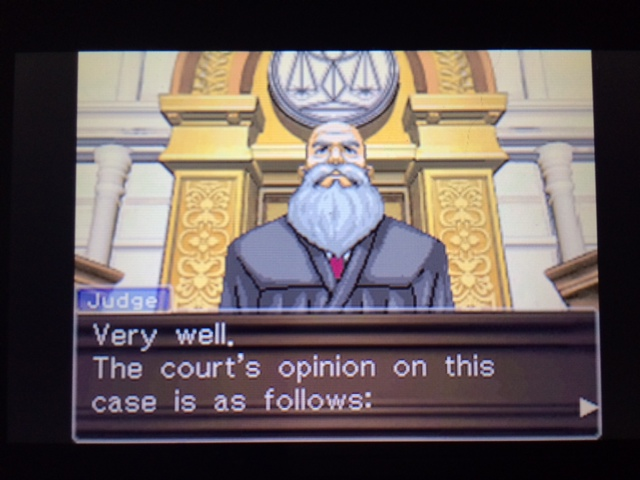 逆転裁判 北米版 マネラ証言後1