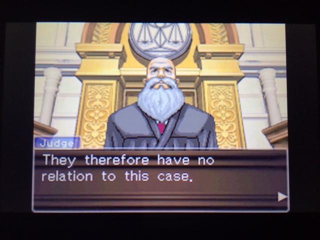 逆転裁判 北米版 マネラ証言後3