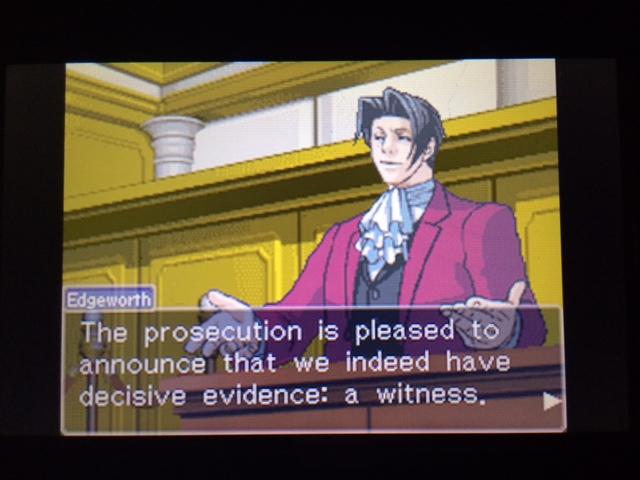 逆転裁判 北米版 マネラ証言後8